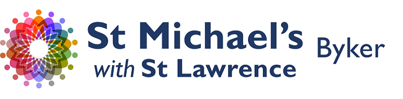 St Michael's with St Lawrence Byker logo